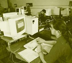 Занятия на факультете ВМиК МГУ. Факультет создан в 1970 году по инициативе выдающегося математика А. Н. Тихонова.