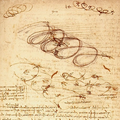 Леонардо да Винчи. Зарисовки