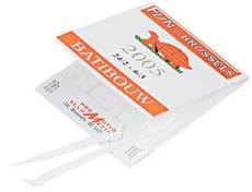 В Бельгии выпускают пластиковые одноразовые зубочистки в книжечках вроде спичечных.
