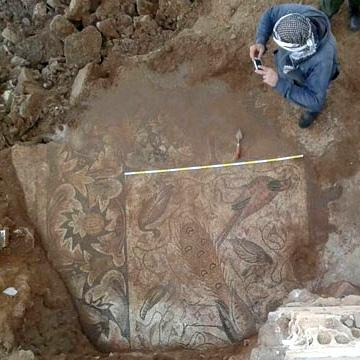 В Сирии нашли три византийских мозаики