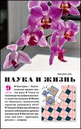 Обложка журнала «Наука и жизнь» №09 за 2016 г.
