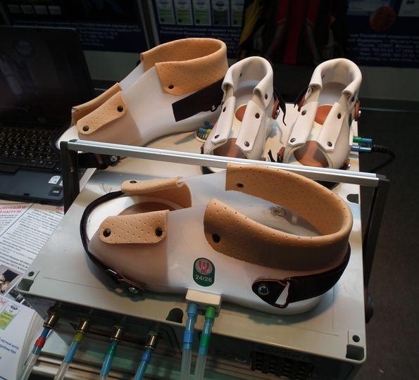 Лечебный имитатор нагрузки на стопу «Корвит», разработанный в ИМБП