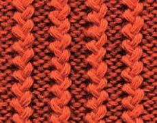 Связать спицами различные виды резинки Вязание резинок для юбок