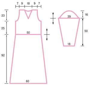 выкройка платья 50 размер