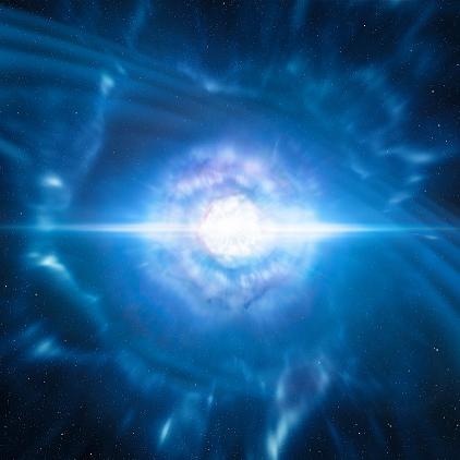 Первое наблюдение слияния нейтронных звезд