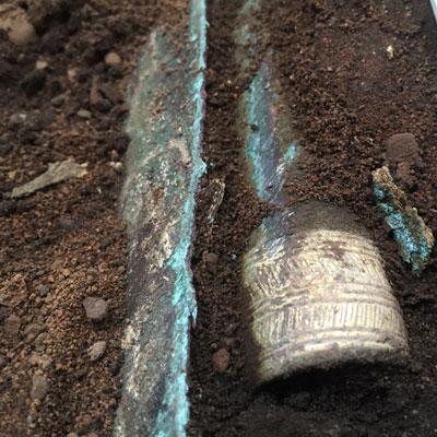 В Шотландии нашли клад оружия бронзового века