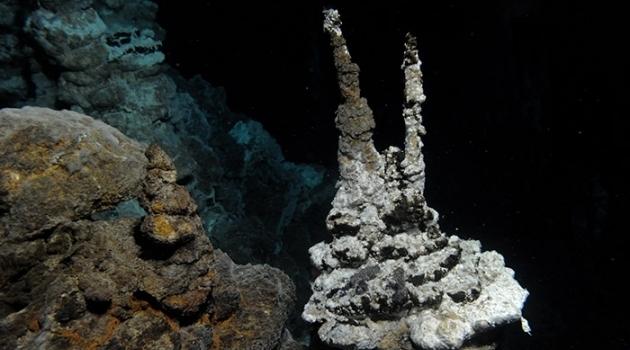 Микроба Lokiarchaea нашли на глубине 2 352 метров, в системе чёрных курильщиков под названием «Замок Локи». (Фото R.B. Pedersen, Centre for Geobiology (University of Bergen, Norge)).