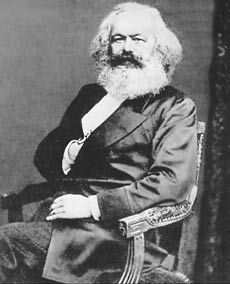 Карл Маркс. Фотография 1870 года.