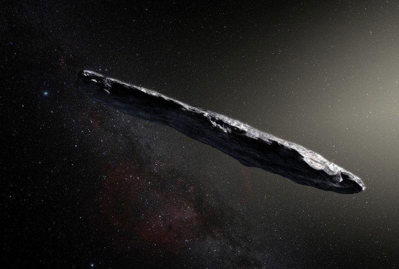 Кто потерял астероид Оумуамуа?