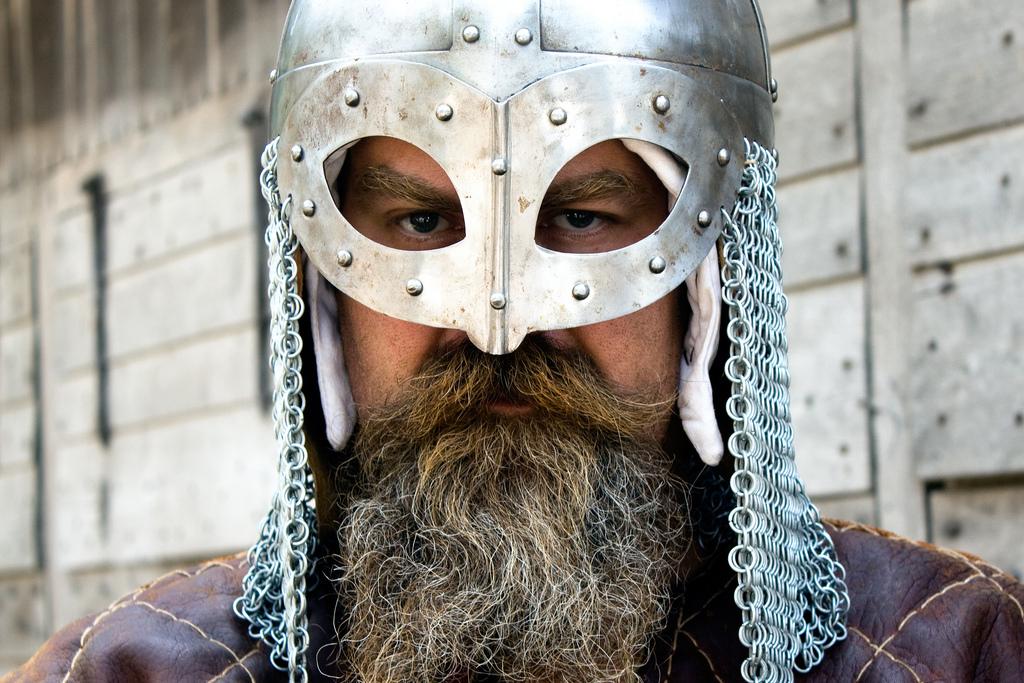 Так мог выглядеть викинг (современный реконструктор). (Фото: Hans Splinter / Flickr.com / CC BY-ND 2.0.)