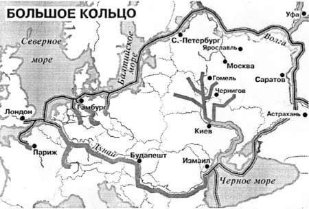 """Карта-схема """"европейской"""