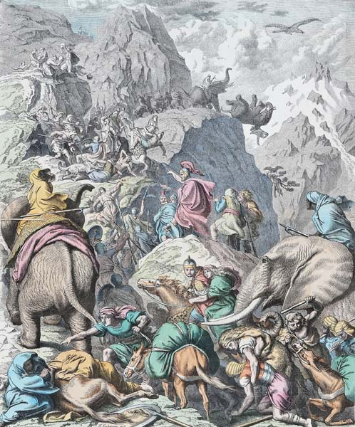 Маршрут Ганнибала через Альпы определили по навозу
