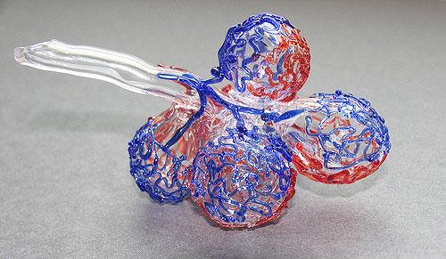 Модель бронхиолы с сидящими на ней альвеолами. (Фото: Niskia / Flickr.com)