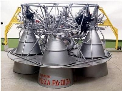 Двигательная установка нового поколения для перспективной ракеты-носителя «Сункар» (Фото: Роскосмос.)