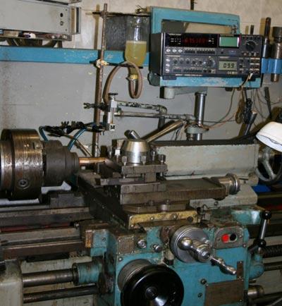 Установка для анодно-механической обработки металлокерамики.