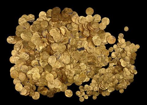 Клад золотых монет каталог немецких монет