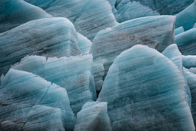 Исландский ледник крупным планом. (Фото: Paul Andrew / Flickr.com.)