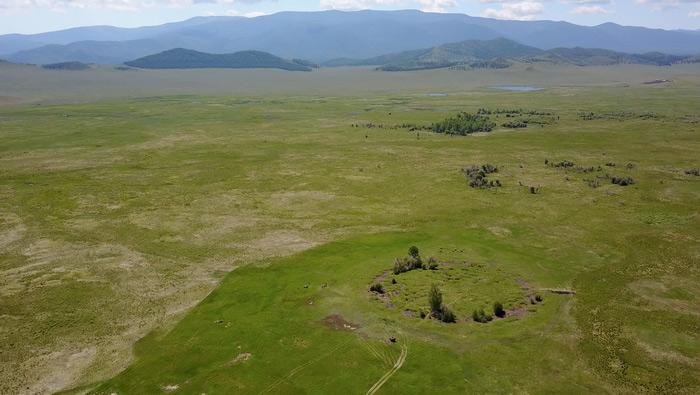 В Сибири открыли один из древнейших скифских курганов