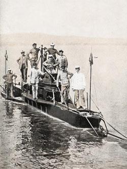 Подводные лодки по мнению уэллса