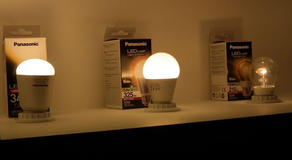 Помимо компактных люминесцентных ламп и новых долгоиграющих щелочных батареек компания Panasonic решила выпустить на российский рынок светодиодные лампы оригинальной конструкции.