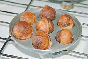 Пончики московские (рецепт для предприятий общественного питания, 1955г.)