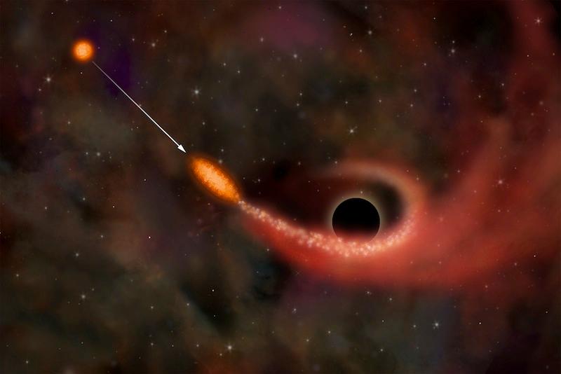Сколько звезд «съедают» черные дыры | Наука и жизнь