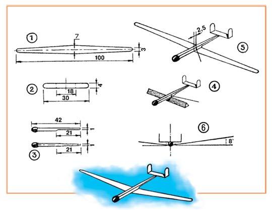 Самолет из пенопласта своими руками с чертежами 83