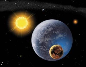 Как зарождалась солнечная система