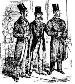 В 1880-х годах среди джентльменов в США было модно прогуливаться по улице с зубочисткой в углу рта.