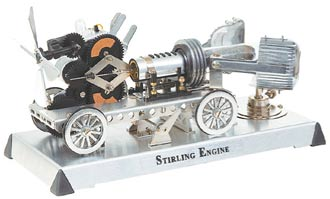 Вакуумный двигатель стирлинга своими руками