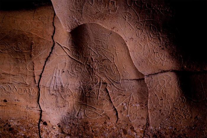 В каталонской пещере нашли 100 рисунков каменного века