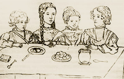 дети пушкина и гончаровой фото