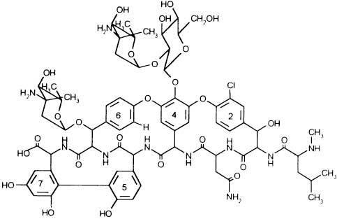 Новый отечественный гликопептидный антибиотик эремомицин выделен из почвенного актиномицета.