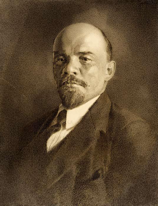 А.Р. Эберлинг. Портрет В.И. Ленина. 1924 г.