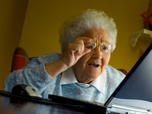 Современные пожилые люди сохраняют ясность ума не в последнюю очередь благодаря новейшим информационным технологиям. (Фото Envision / Corbis.)