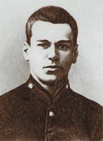 Александр Шаргей - гимназист. Полтава, 1914 год.