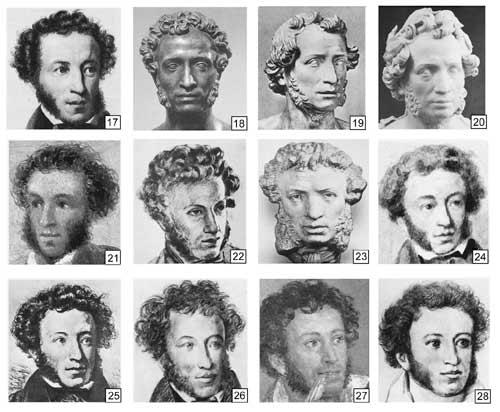 Словесный портрет волосы