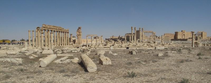 В «северной Пальмире» создали 3D-модель Пальмиры сирийской