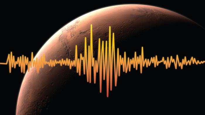 Пульс на Марсе. Иллюстрация NASA.