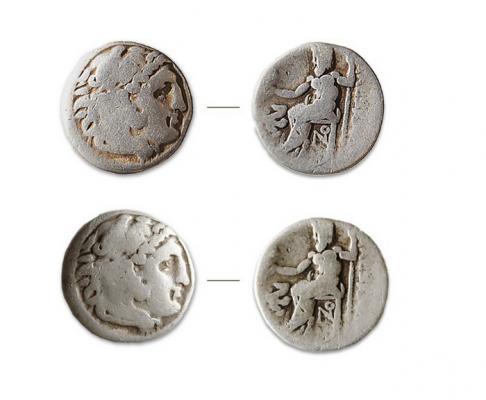 Монеты «александрова типа». (Фото: ИА РАН)